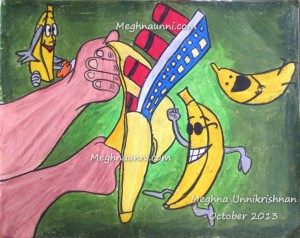 A Funny Painting by Meghna