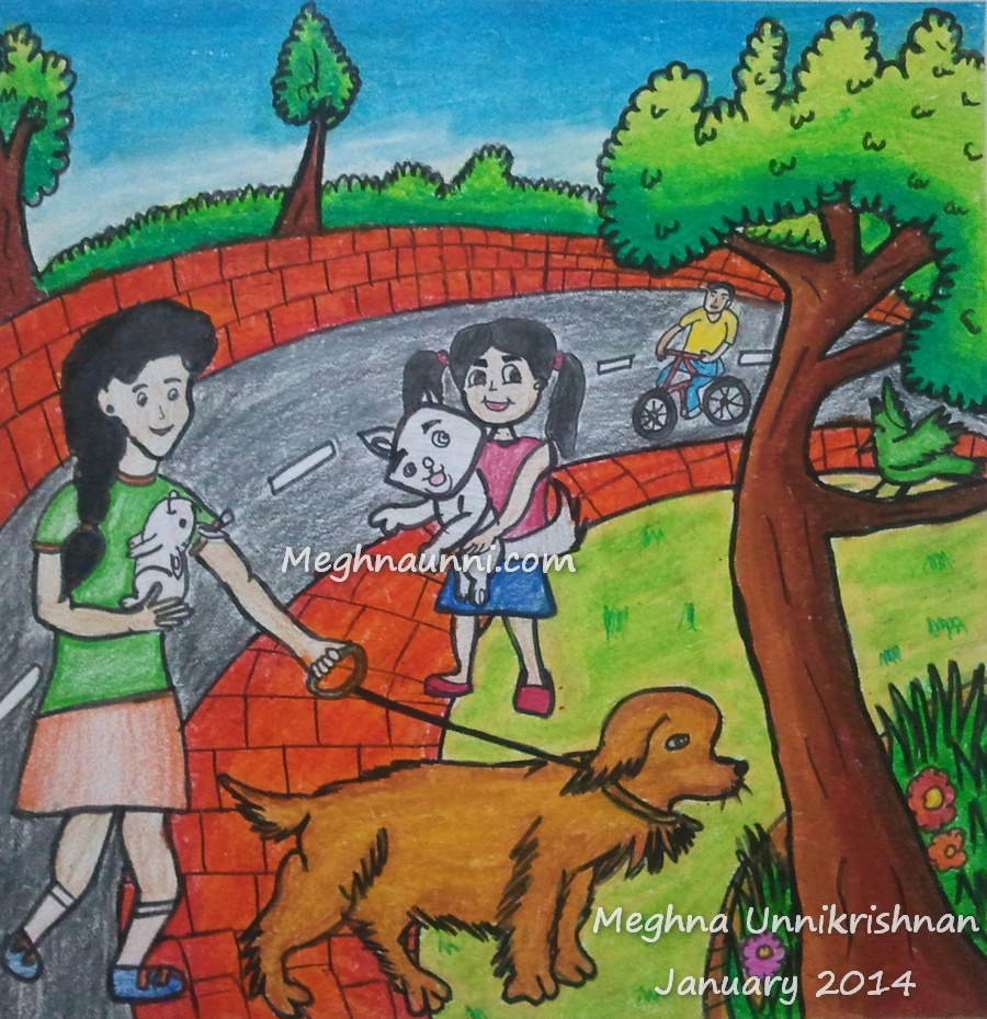 The Hindu Young World Painting Competition 2014