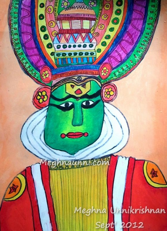 kathakali-dress-make-up-painting