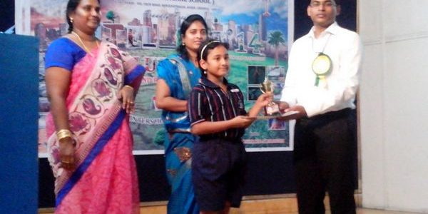 Veltech School Avadi – Intellect'14 – 1st Prize in Poster Making Contest