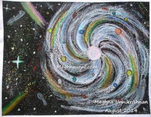 My 'Galaxy' Painting