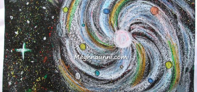 My 'Galaxy' Painting