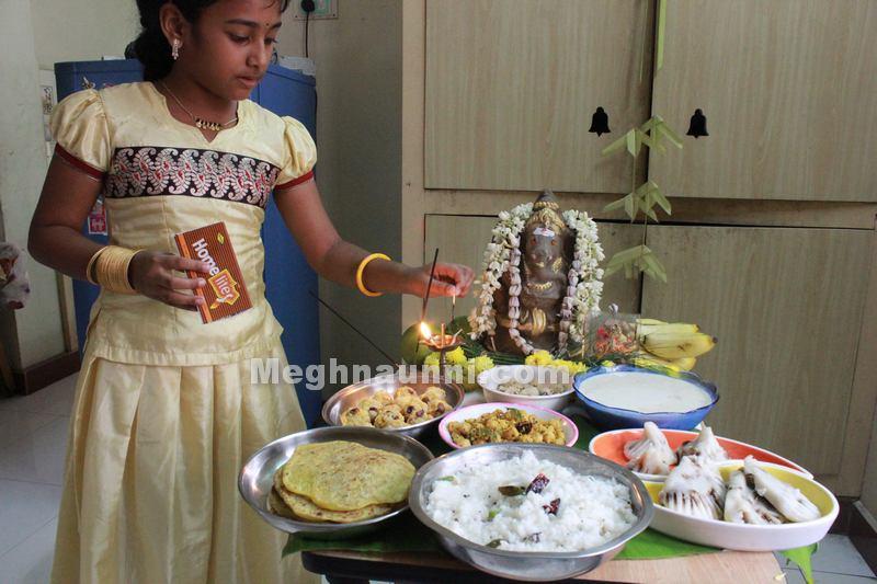 Vinayaga Chathurthi 2014 Celebration at my home