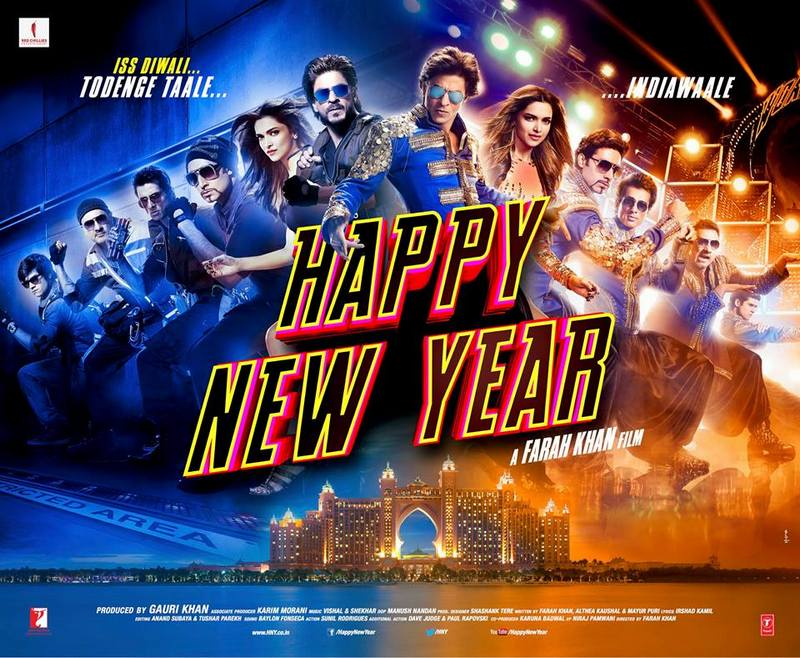 Happy New Year, Shah Rukh Khan's new Film