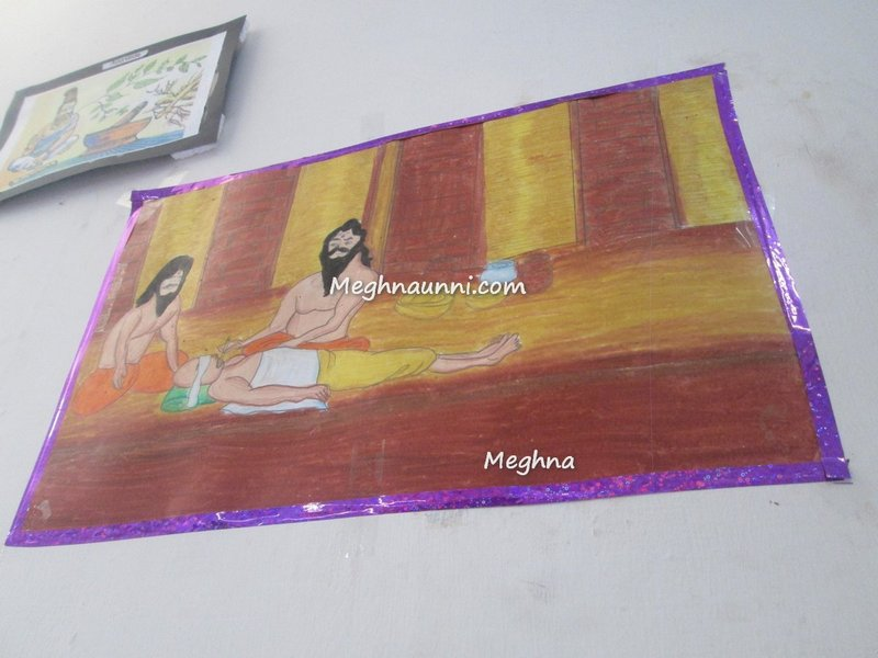 meghna-painting-at-the-schram-academy-maduravoyal
