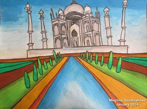 Tajmahal Painting by me