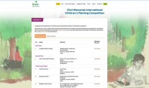 Won 3rd Prize in Clint Memorial International Children's Painting Competition