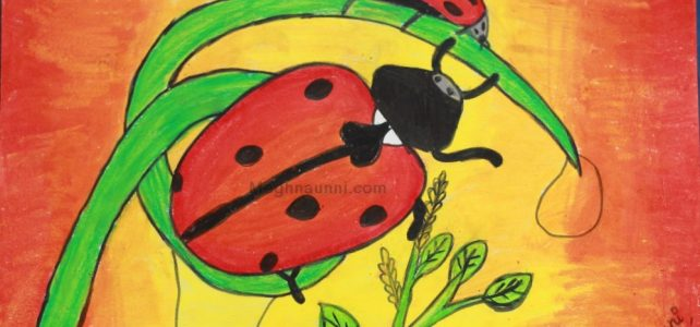 Lady Bug Painting