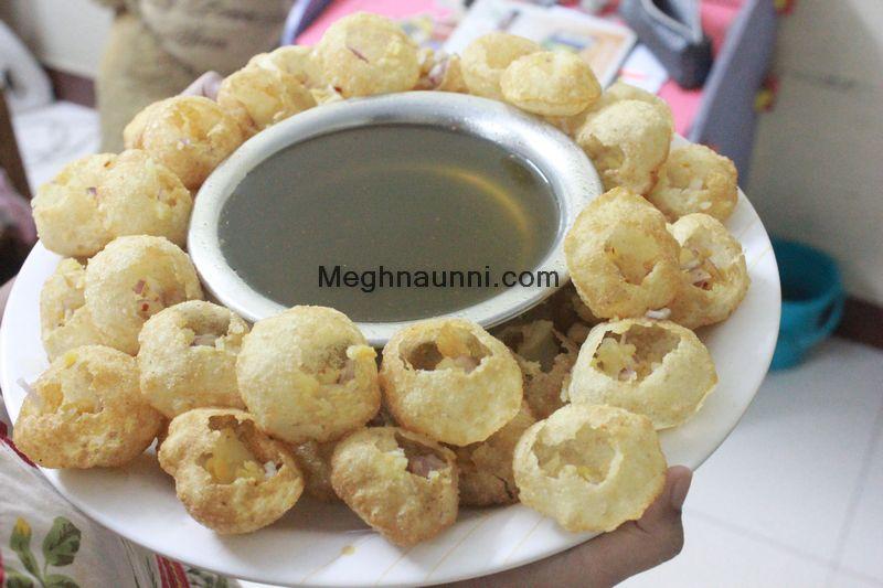 My Recipe for Pani Puri