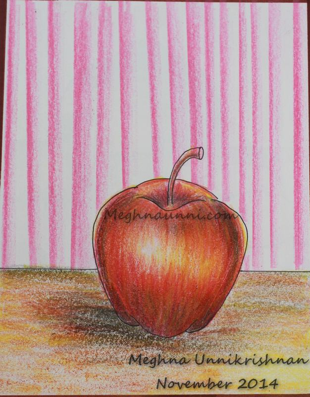 'Apple' Painting by Me