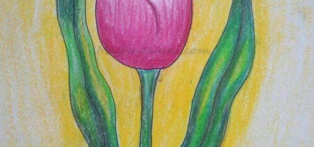 'Tulip' Flower Painting