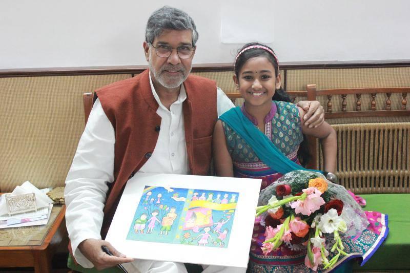 meghna-with-shri-kailash-satyarthi