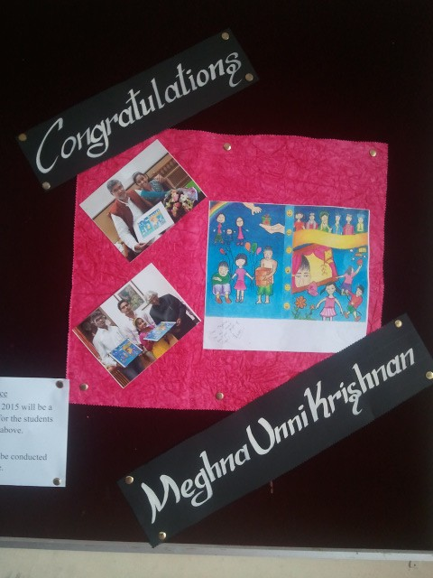 My Photos on the School Notice Board