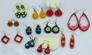 My Experiments with Quilling Ear Rings