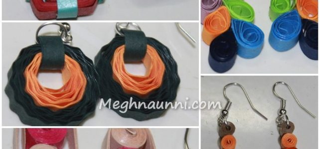 My Quilling Ear Rings Collection
