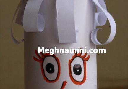 Pen Vase using Paper
