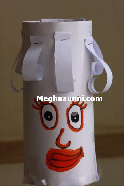 pen-vase-using-paper