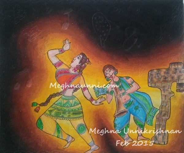 India Dance & Music Painting