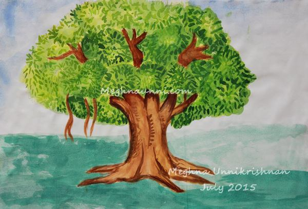 tree-water-colour-painting-by-meghna