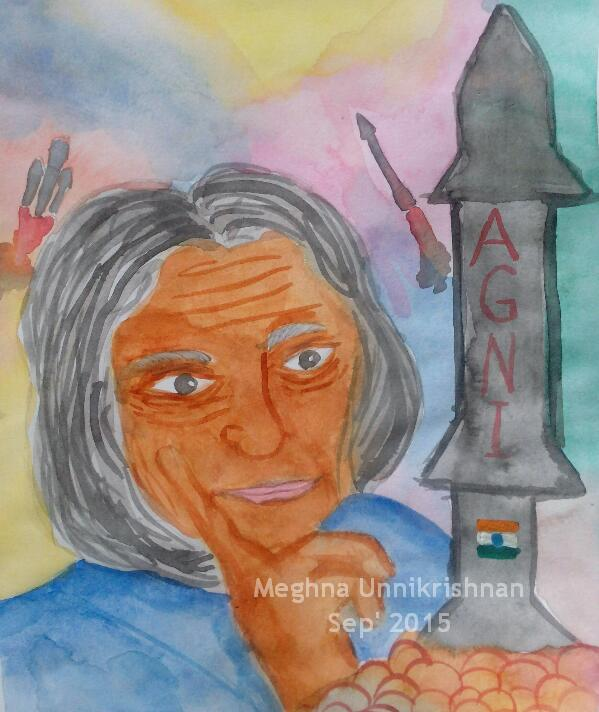 Tribute to the Great Teacher on his Birthday : Dr. APJ Abdul Kalam