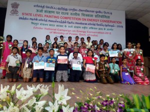 BEE State Level Painting Competition 2015