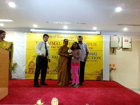 meghna-at-velammal-contest