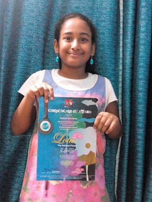 meghna-commended-award-group-d-lotus