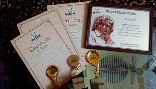 Dr.APJ Kalam Award in Justice Mohan Children University Competitions