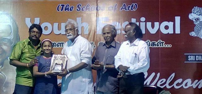 Won Dr.APJ Abdul Kalam Vithaga Sirpi Award