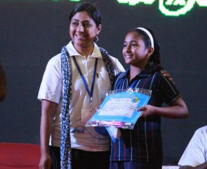 First Prize in Inter school Competitions at SBOA School & Jr. College