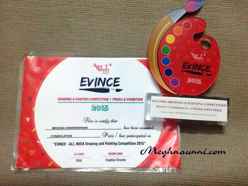 artroots-evince-trophy-certificate