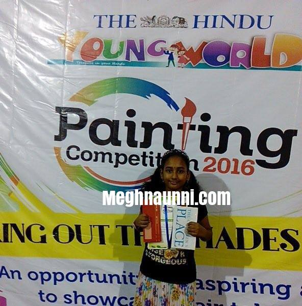 The HINDU Young World Painting Competition 2016 Chennai Finals