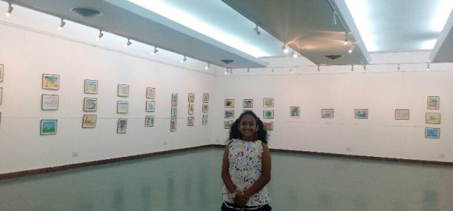 Nazariya Painting Exhibition at Venkatappa Art Gallery, Bangalore