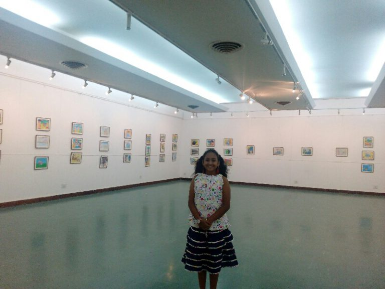 Nazariya Painting Exhibition at Venkatappa Art Gallery, Bangalore