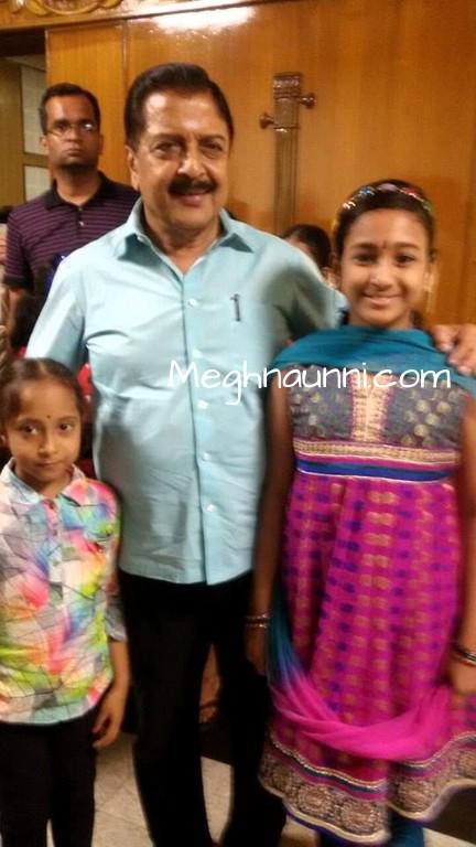 Met Actor Sivakumar Sir at Vani Mahal