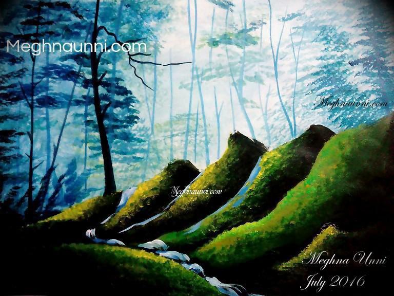 landscape-acrylic-by-meghna-unni