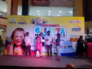 First Prize in Children's Galatta 2016 by Children's University