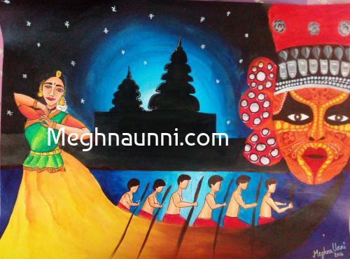 Kala on Canvas Rang Rangeela Bharat Art Competition 2016