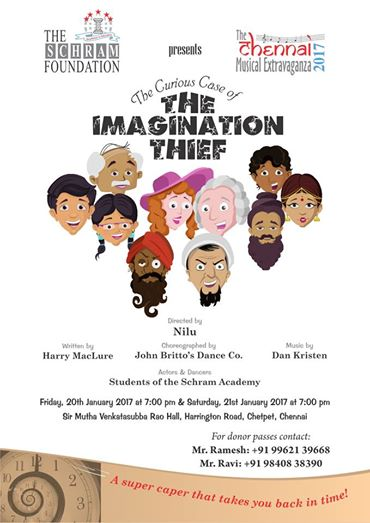 The Curious Case of The Imagination Thief : Musical Drama by The Schram Academy