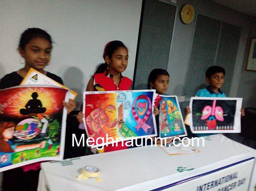 First Prize in SMF Can-Stop Painting Competition held on Feb 18, 2017