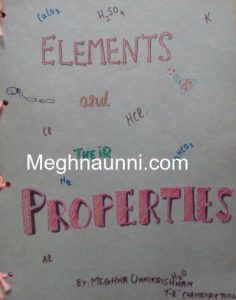 School Project | Chemistry : Elements & Their Properties