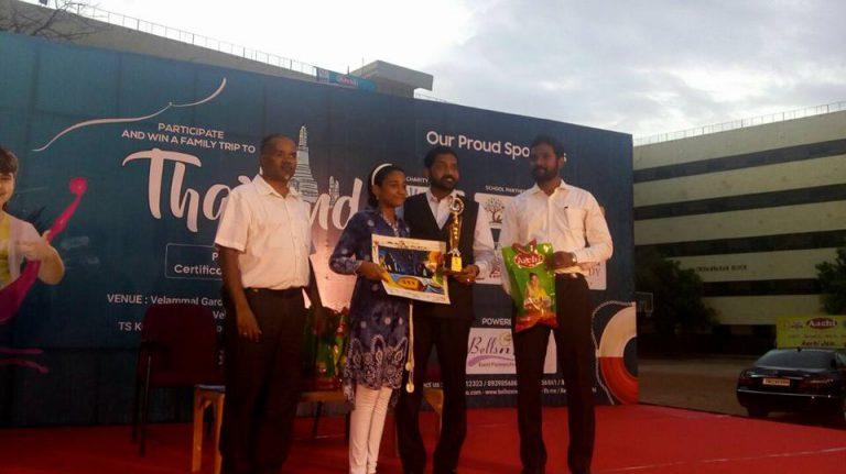 Aachi Art Fest 2017 at Velammal Matric Main School, Mogappair