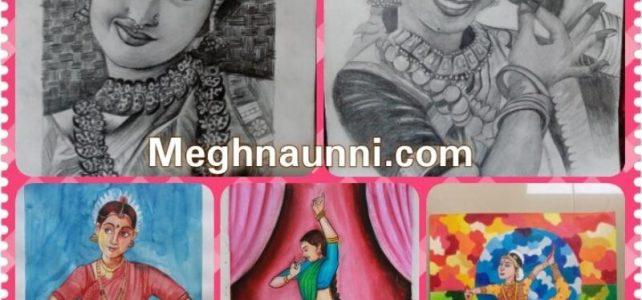 Bharathanatyam Paintings Video | My Passion