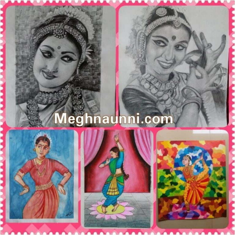 Bharathanatyam Paintings Video | My Passion