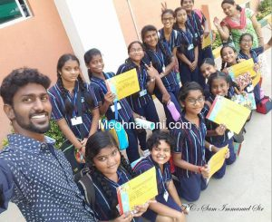 RMK Sr. Sec. School Thiruverkadu Inter School Art Fest 2017