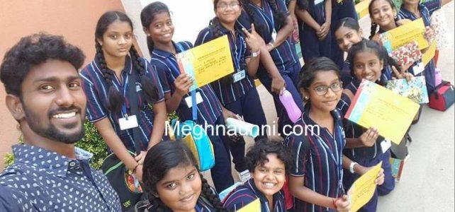 RMK Sr. Sec. School Thiruverkadu Inter School Art Fest 2017