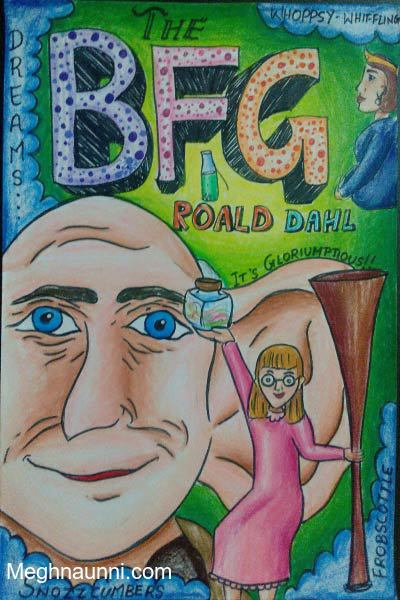 Young World Club Roald Dahl Book Cover Design Contest