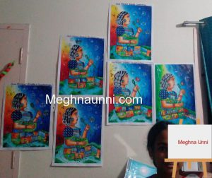 Me with my BEE Energy Conservation Painting Practice Pictures