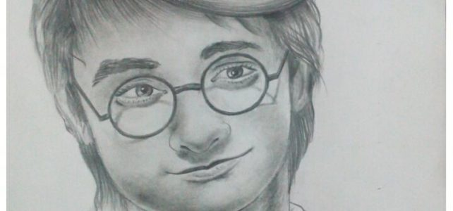 Harry Potter Pencil Sketch | Daniel Radcliff Pencil Shading Work
