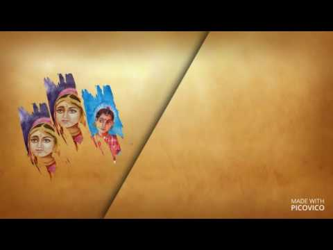 My Water Colour Paintings Video Part 1